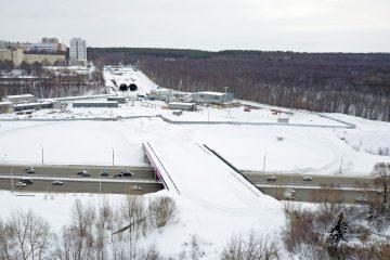 В Уфе возобновилось строительство Восточного выезда