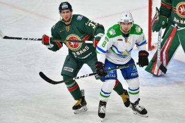 «Салават Юлаев» уступил «Ак Барсу» в 5-й серии «зеленого дерби»