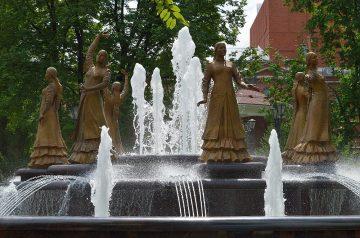 В Уфе 30 мая запланирован пробный запуск фонтанов