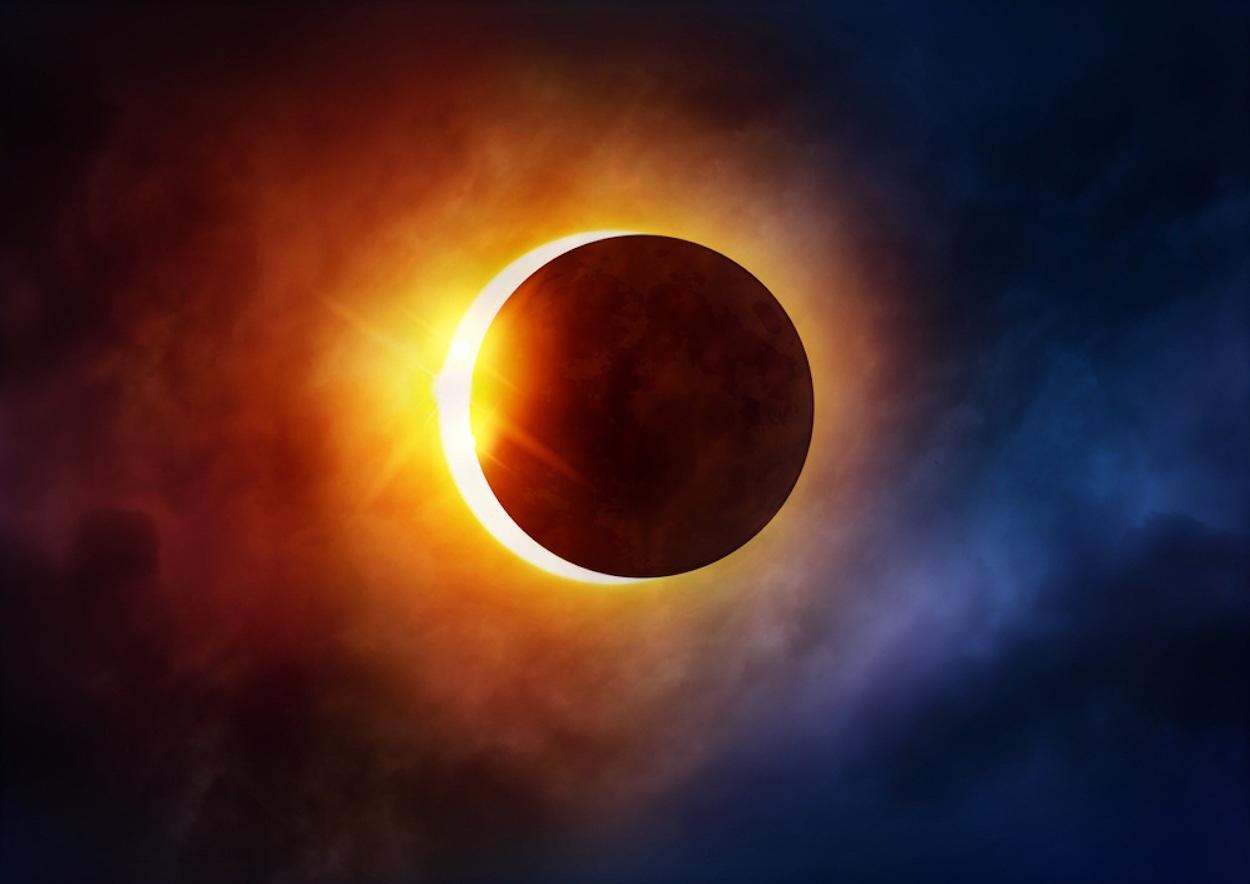Картинка солнечные затмения