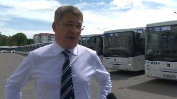 Автопарк общественного транспорта Уфы пополнился 50 автобусами