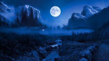 В октябре жители Башкирии смогут увидеть редкую «голубую Луну»