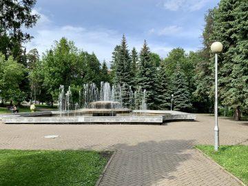 В парке у Белого дома в Уфе появятся кафе, амфитеатр и обзорная площадка