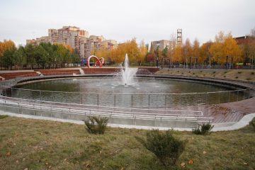 В Уфе завершилась реконструкция парка «Первомайский»
