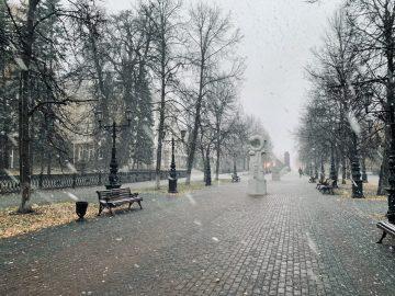 В выходные дни в Башкирии похолодает до -12