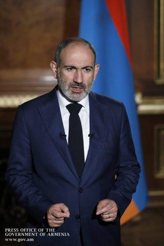 Никол Пашинян выступил за ввод российских миротворцев в Нагорный Карабах