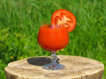Употребление томатного сока снижает риск сердечно-сосудистых заболеваний