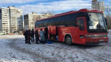 В Уфе для бездомных начал курсировать автобус милосердия