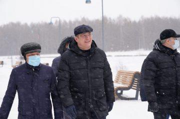 Хабиров назвал лучший в республике парк у водоёма