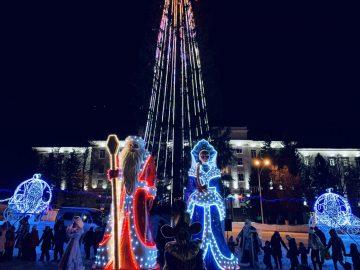Власти Уфа установят новогоднюю елку за 12 млн рублей