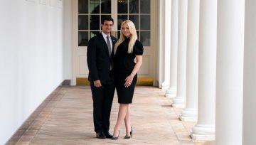 Младшая дочь Трампа сообщила о помолвке в последний день президентства отца