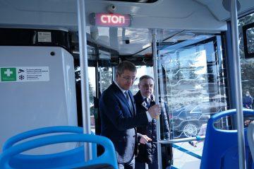 На улицах Уфы пройдет длительный тест-драйв новых автобусов «НЕФАЗ»