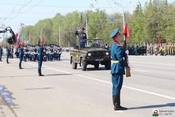 9 мая в Уфе пройдет парад военнослужащих Уфимского гарнизона