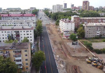 В Уфе открыли технический проезд по участкам улиц Галле и Комсомольской